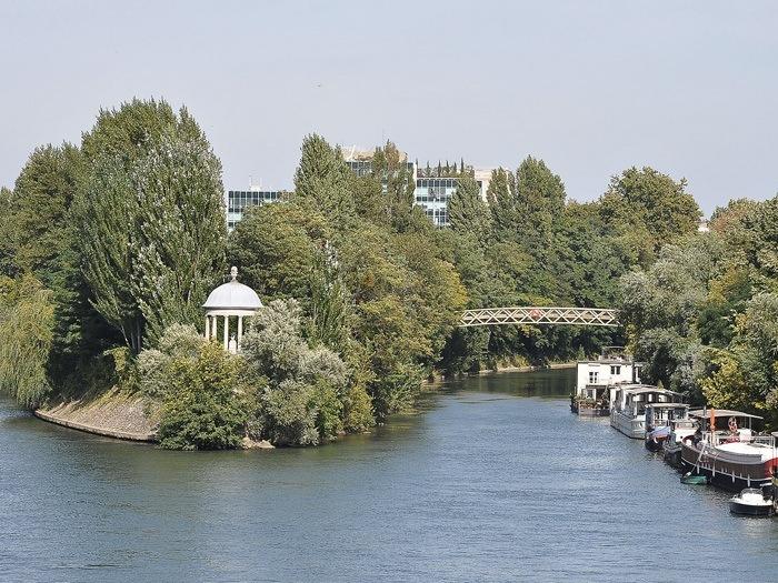Quartier Ile de la Jatte - Neuilly-sur-Seine