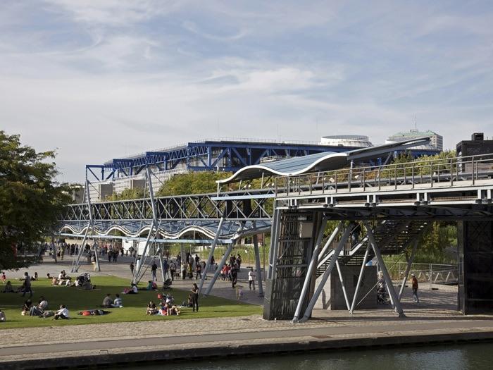 Quartier Pont de Flandre - Paris 19