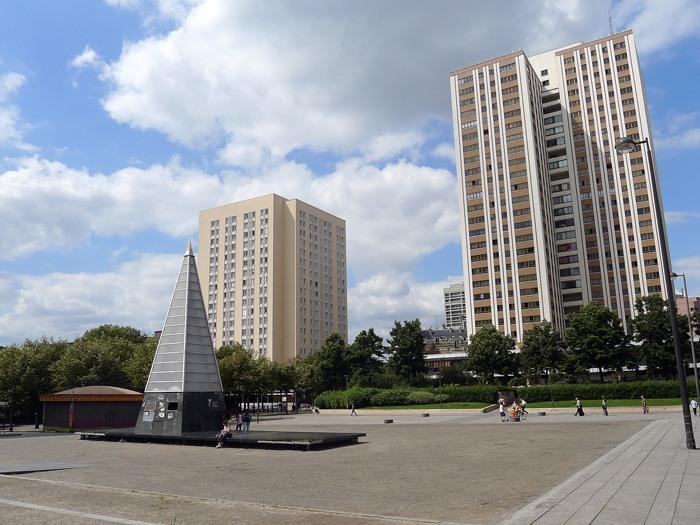 Quartier Amérique - Paris 19